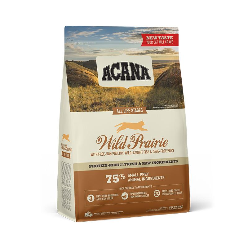 ACANA WILD PRAIRIE CAT 1,8 kg GRAIN-FREE