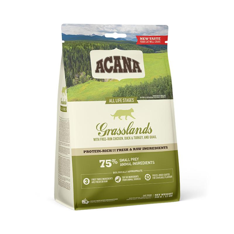 ACANA GRASSLANDS CAT 340 g GRAIN-FREE