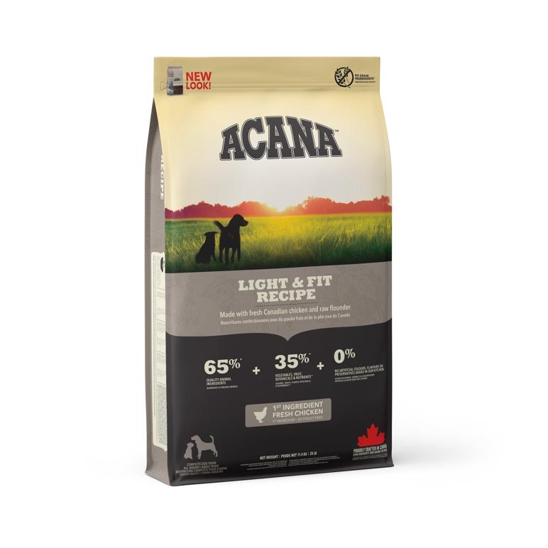 ACANA Light & Fit 11,4 kg HERITAGE