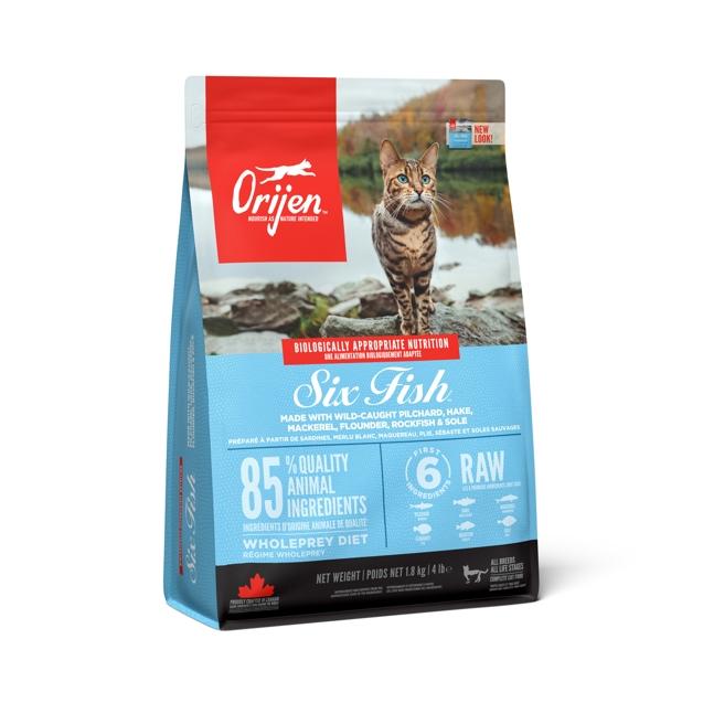 ORIJEN Six Fish CAT 1,8 kg