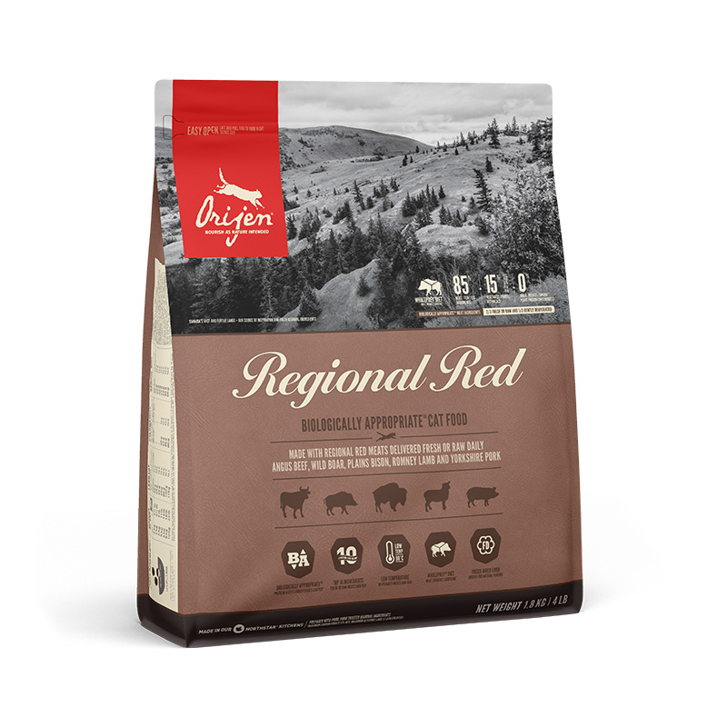 ORIJEN Regional red CAT 1,8 kg