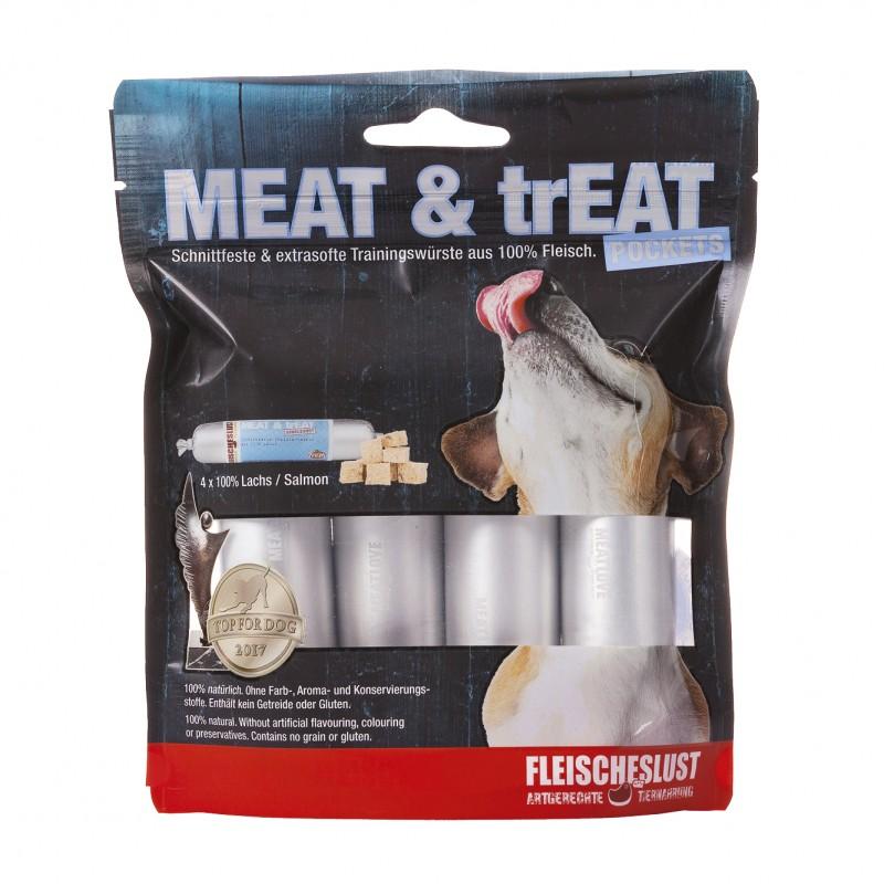 MEAT & TREAT SALMON 4x40g