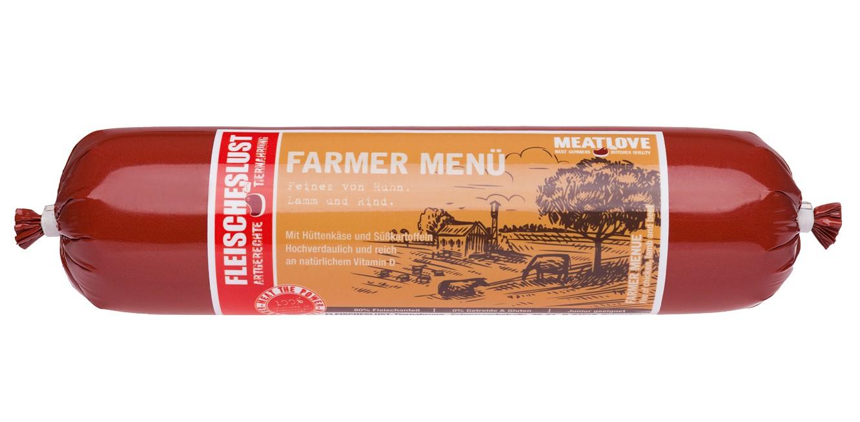 FARMER MENU 400g JUNIOR chicken, lamb & beef
