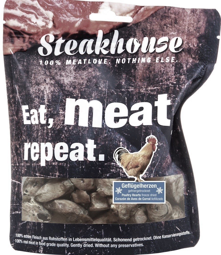 STEAKHOUSE POULTRY HEARTS 80g