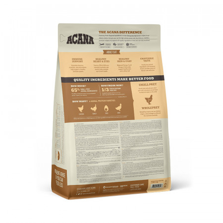 detail ACANA HOMESTEAD HARVEST CAT 1,8 kg