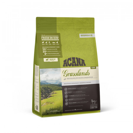 detail ACANA GRASSLANDS CAT 1,8 kg REGIONALS