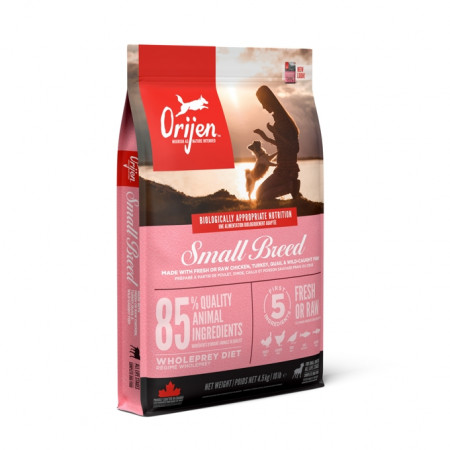 detail ORIJEN SMALL BREED 4,5 kg