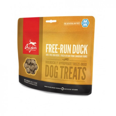 detail ORIJEN TREATS Free-Run Duck 92 g
